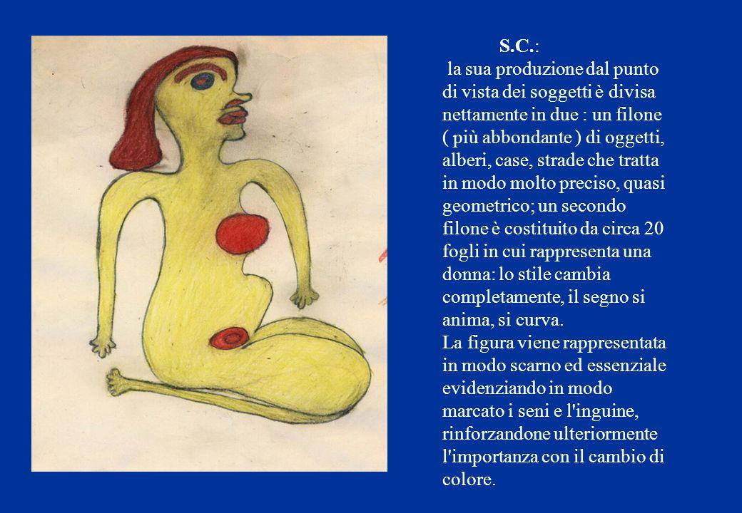 S.C.: la sua produzione dal punto di vista dei soggetti è divisa nettamente in due : un filone.