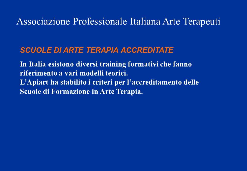 Associazione Professionale Italiana Arte Terapeuti