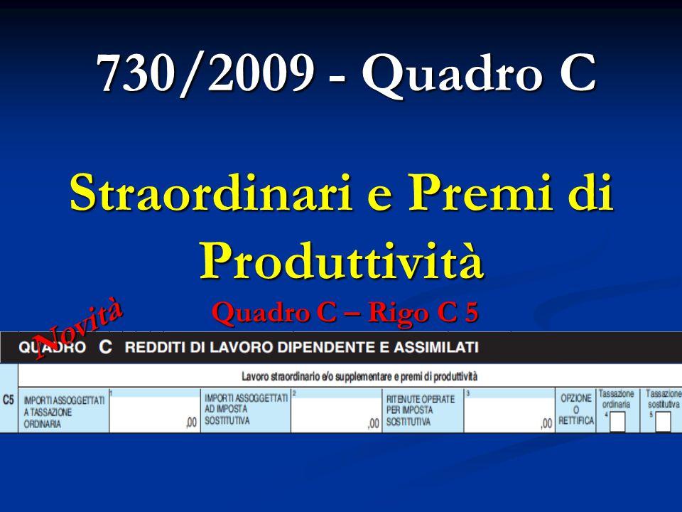 Straordinari e Premi di Produttività