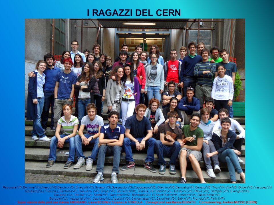 I RAGAZZI DEL CERN Fine.