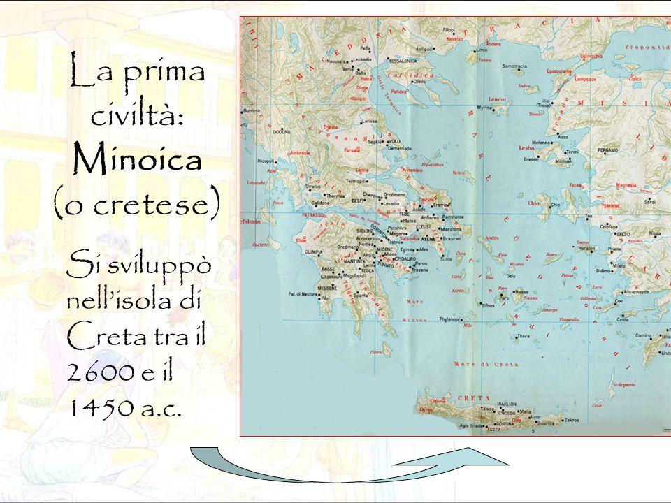 La prima civiltà: Minoica (o cretese)