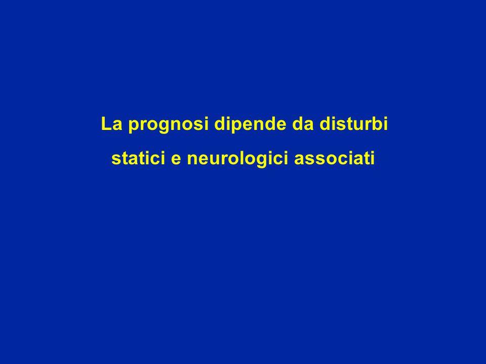 La prognosi dipende da disturbi