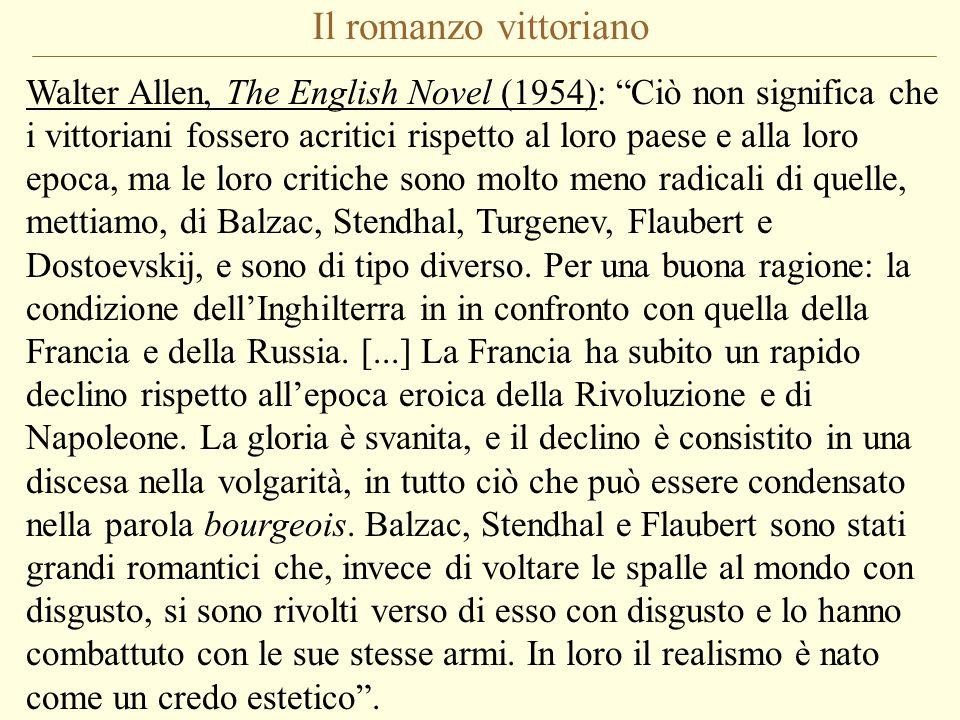 Il romanzo vittoriano