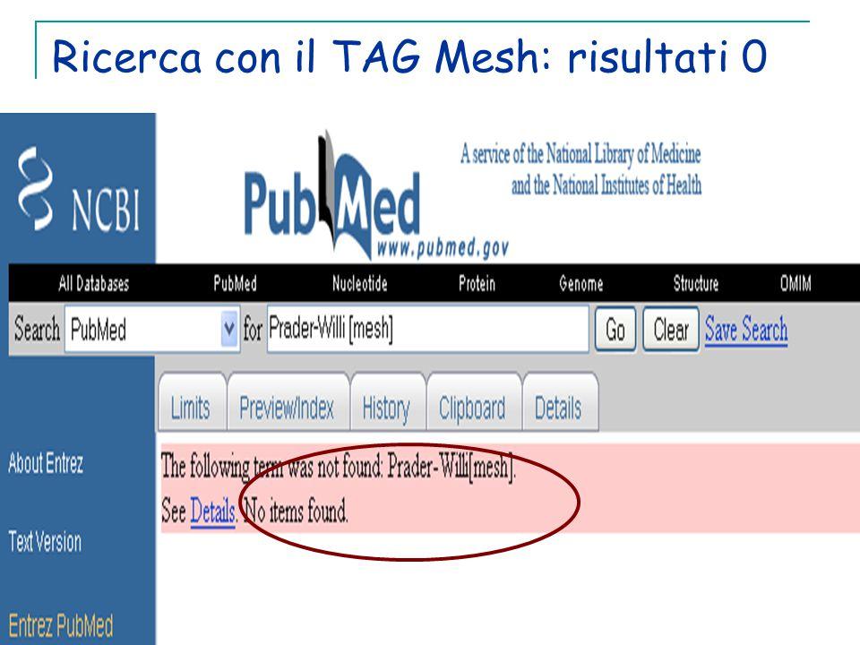 Ricerca con il TAG Mesh: risultati 0