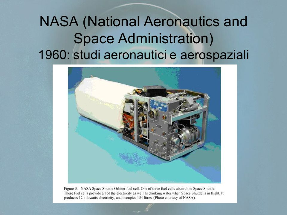 NASA (National Aeronautics and Space Administration) 1960: studi aeronautici e aerospaziali