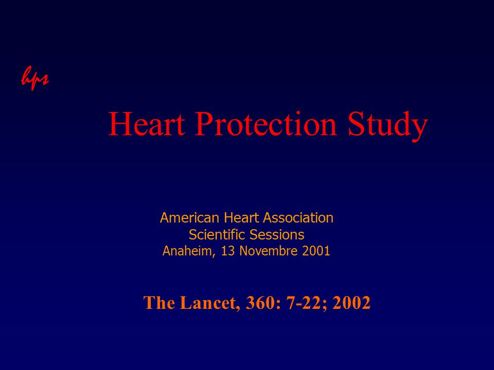 American Heart Association Scientific Sessions