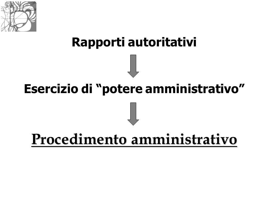 Procedimento amministrativo