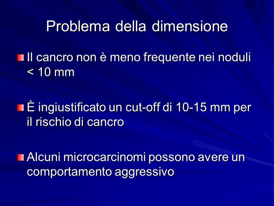 Problema della dimensione