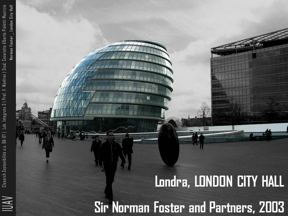 Londra, LONDON CITY HALL