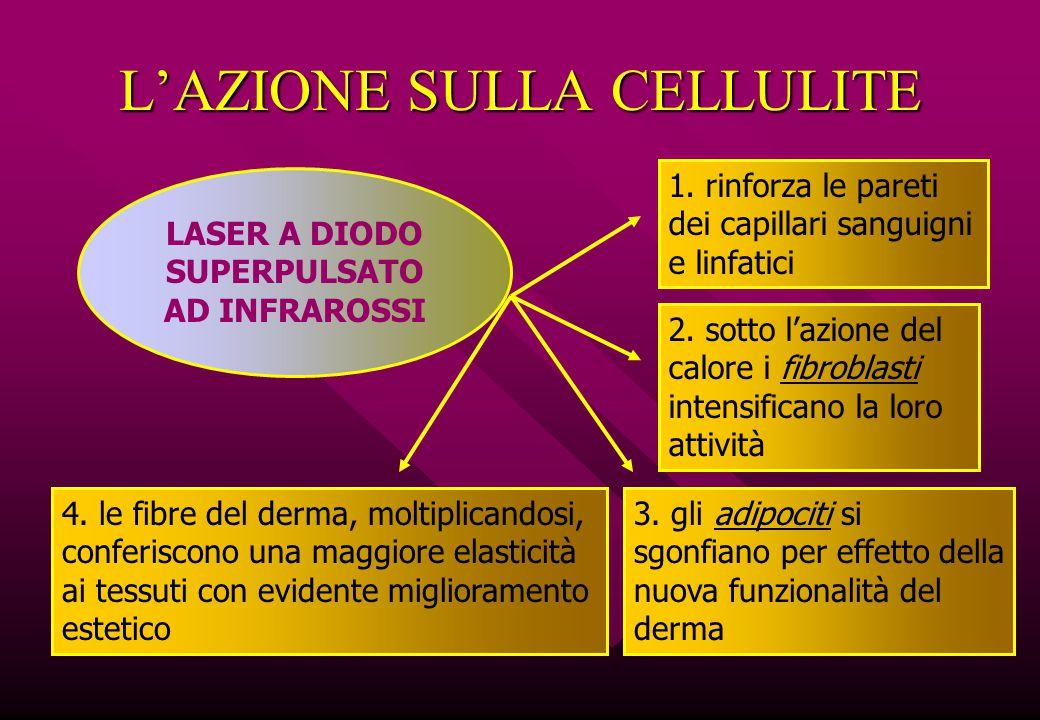 L'AZIONE SULLA CELLULITE