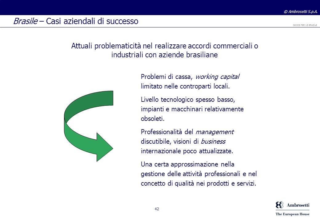 Brasile – Casi aziendali di successo