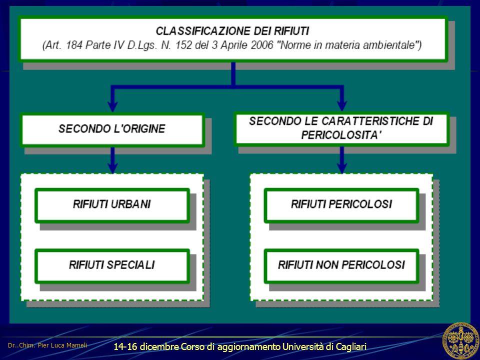 14-16 dicembre Corso di aggiornamento Università di Cagliari