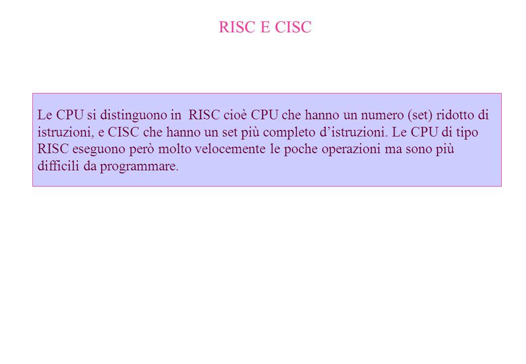 RISC E CISC