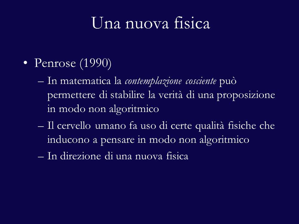 Una nuova fisica Penrose (1990)