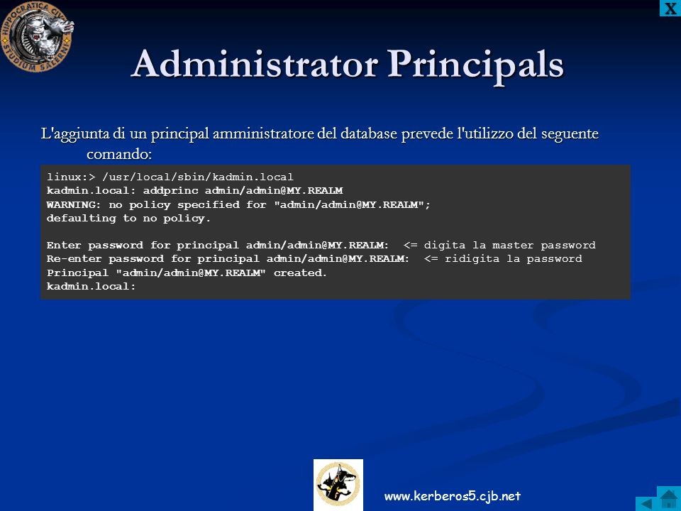 Administrator Principals