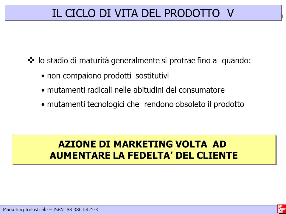AZIONE DI MARKETING VOLTA AD AUMENTARE LA FEDELTA' DEL CLIENTE
