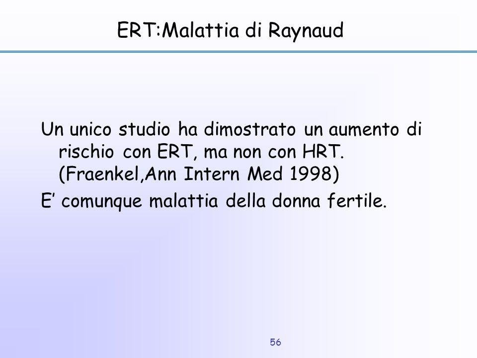 ERT:Malattia di Raynaud