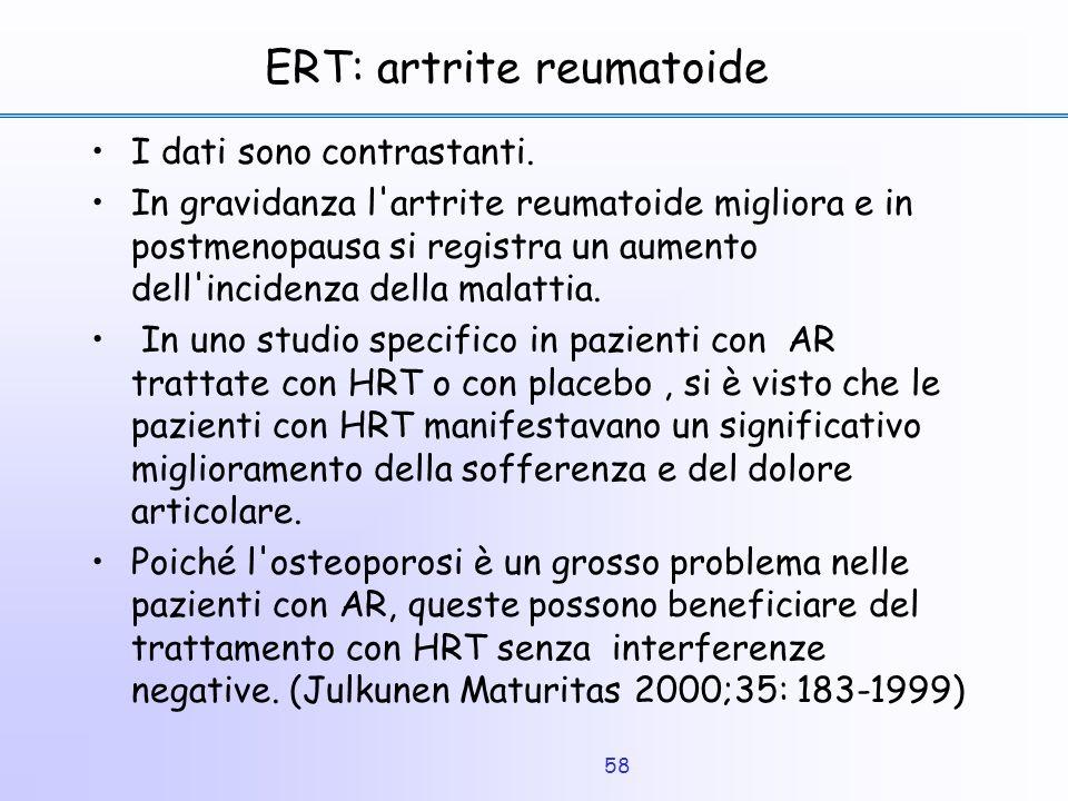 ERT: artrite reumatoide