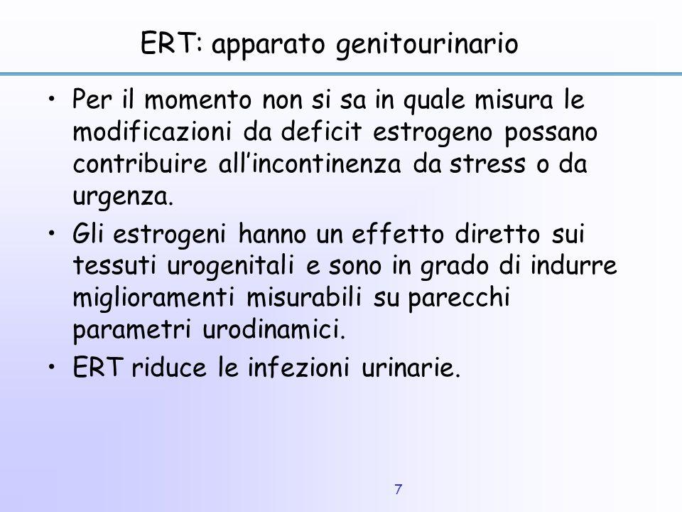 ERT: apparato genitourinario
