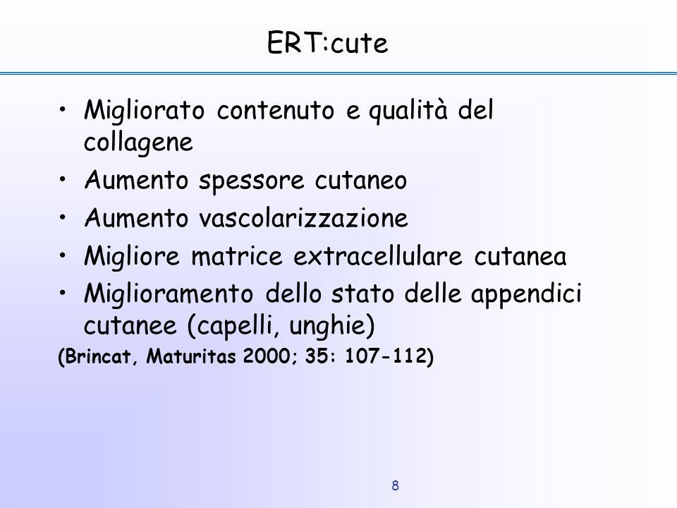 ERT:cute Migliorato contenuto e qualità del collagene