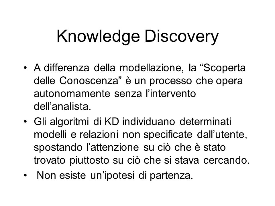 Knowledge Discovery