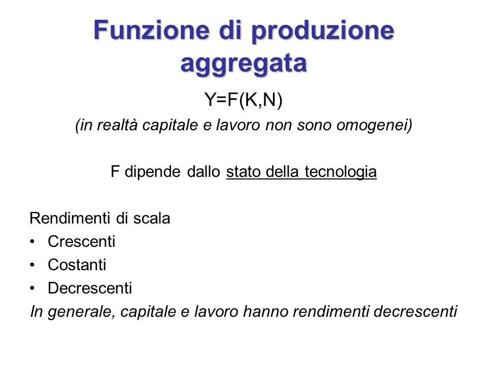 Funzione di produzione aggregata