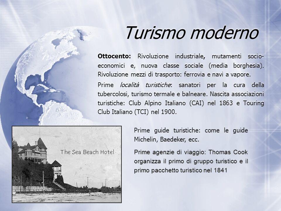 Turismo moderno