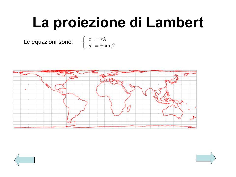 La proiezione di Lambert