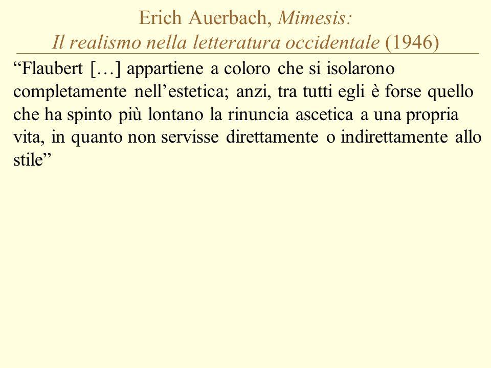 Erich Auerbach, Mimesis: Il realismo nella letteratura occidentale (1946)