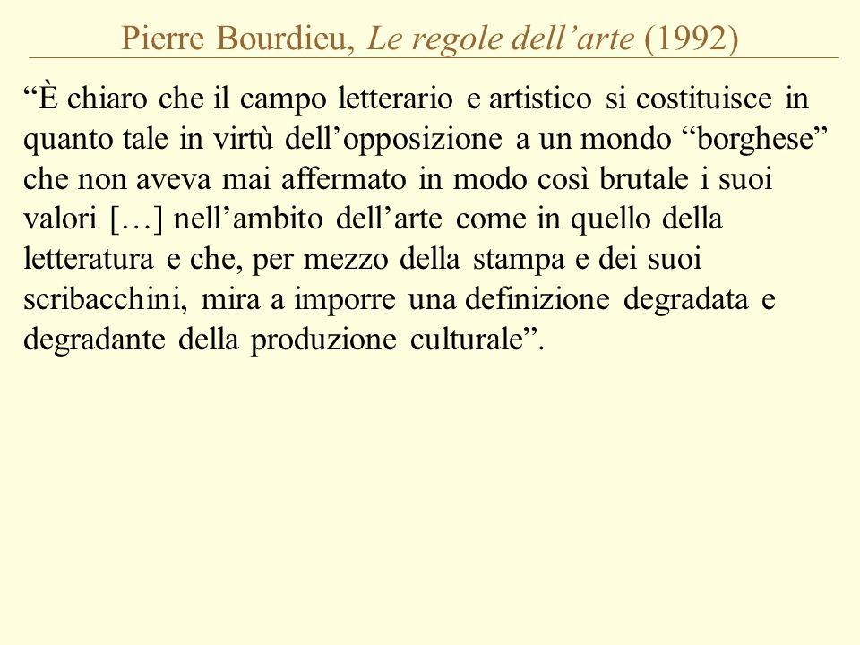 Pierre Bourdieu, Le regole dell'arte (1992)