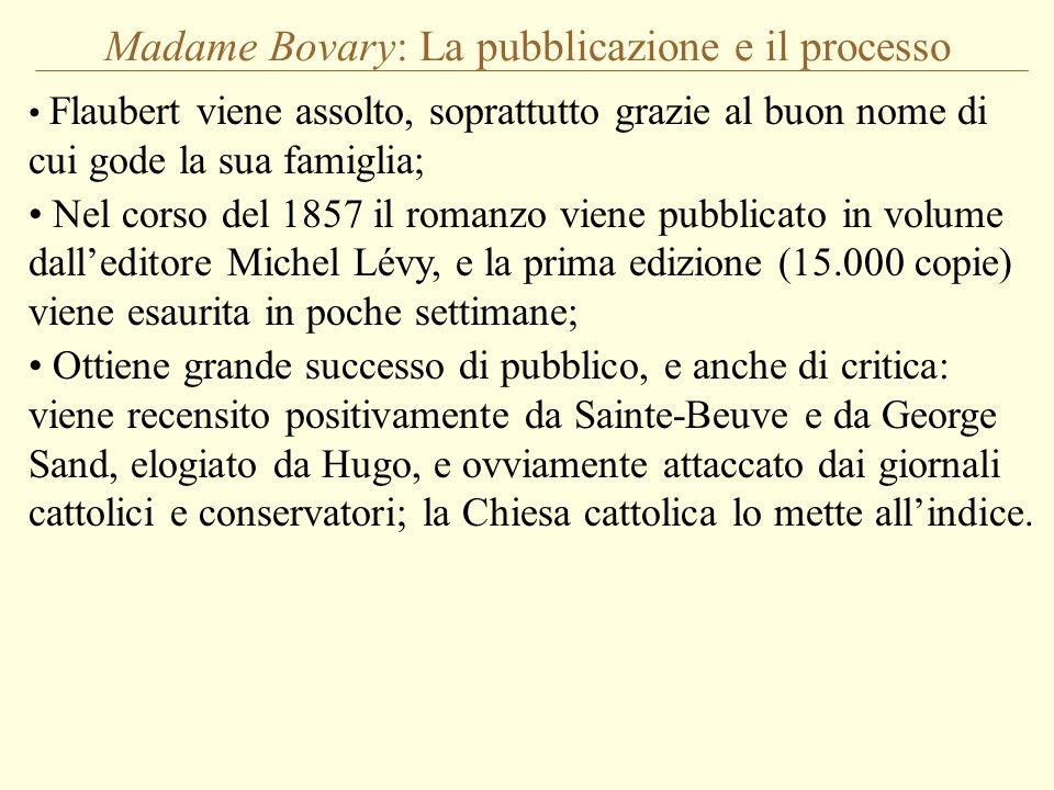 Madame Bovary: La pubblicazione e il processo