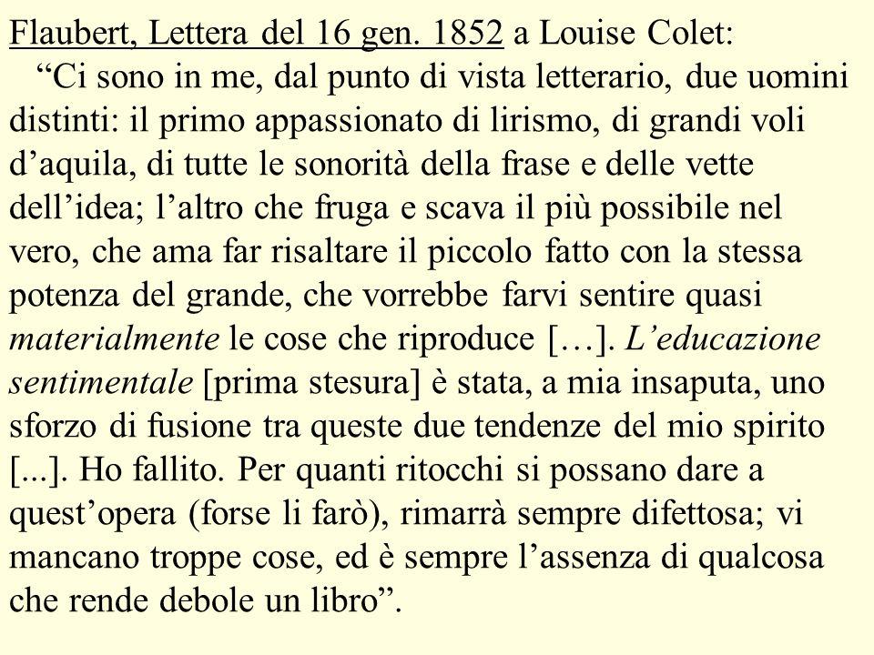 Flaubert, Lettera del 16 gen