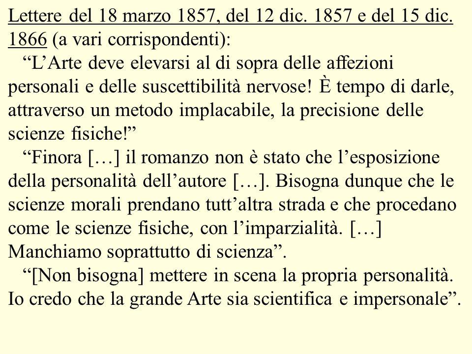Lettere del 18 marzo 1857, del 12 dic. 1857 e del 15 dic