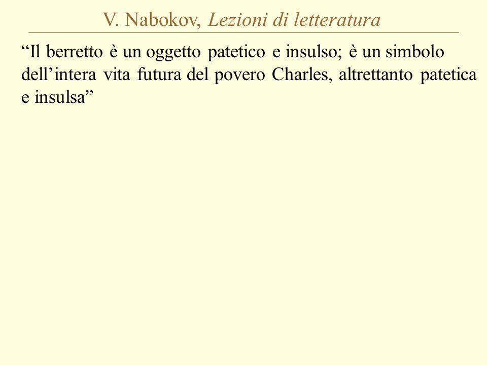 V. Nabokov, Lezioni di letteratura