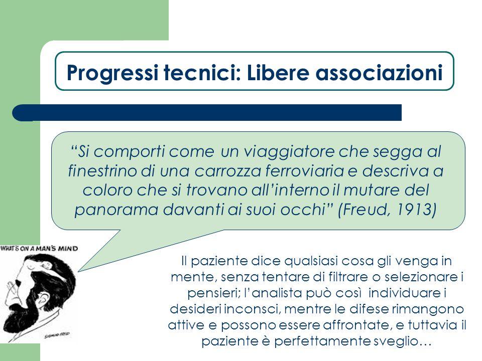 Progressi tecnici: Libere associazioni