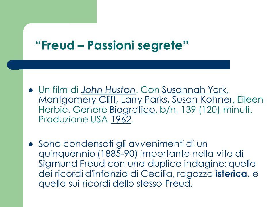 Freud – Passioni segrete
