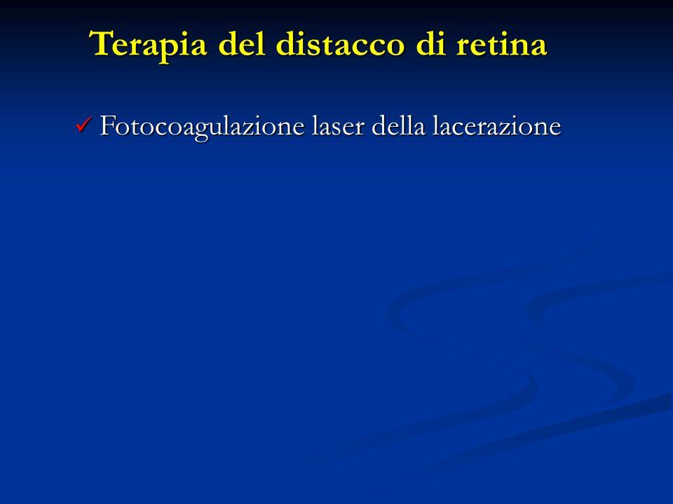 Terapia del distacco di retina