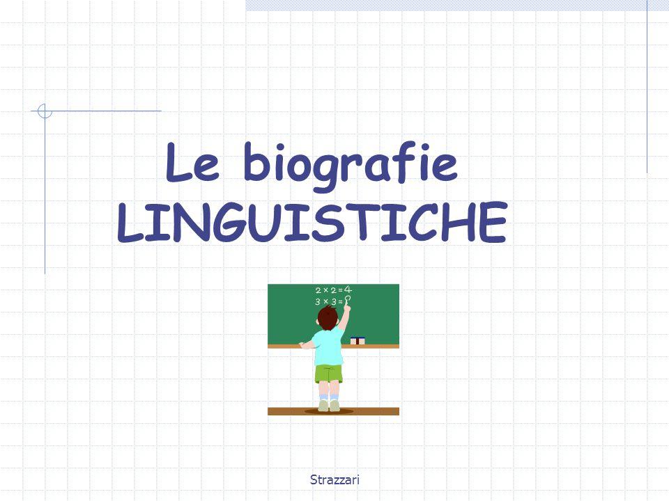 Le biografie LINGUISTICHE