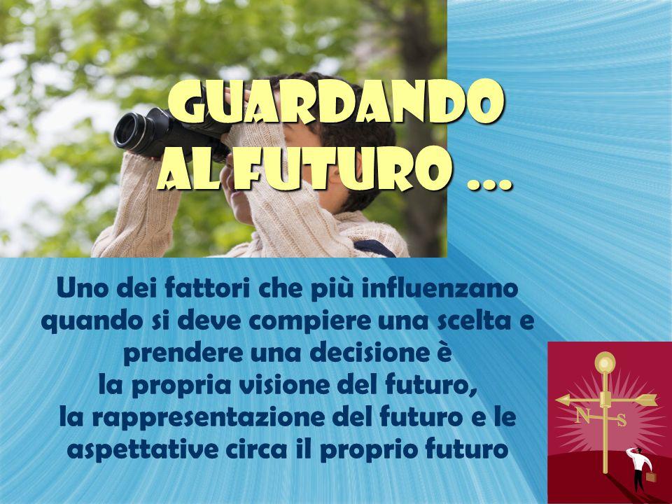 la propria visione del futuro,