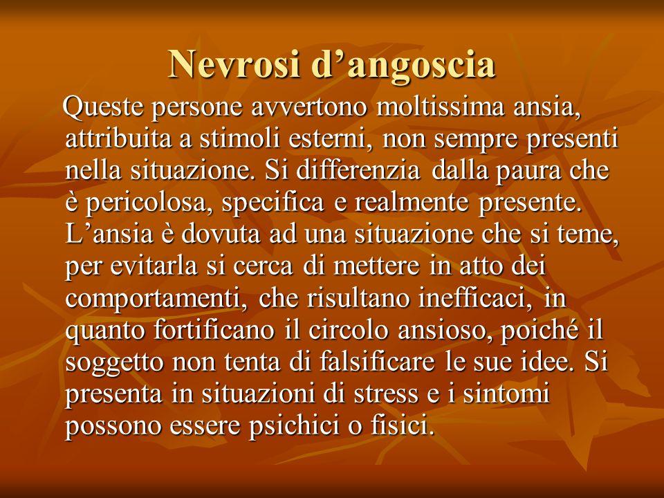 Nevrosi d'angoscia