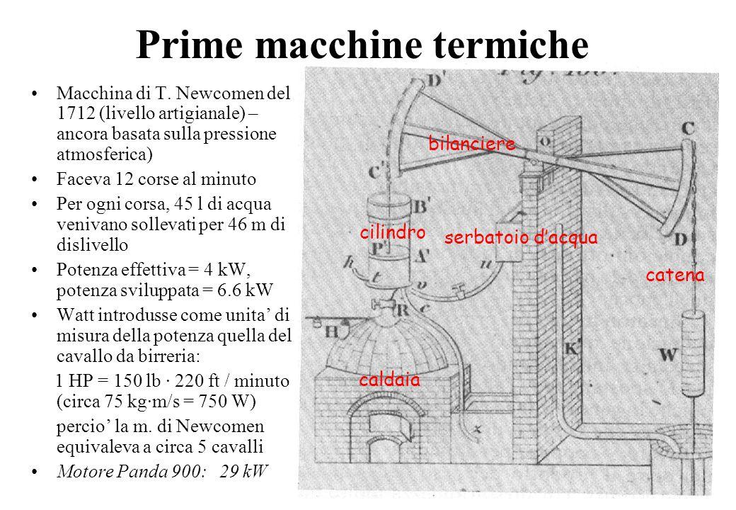 Prime macchine termiche