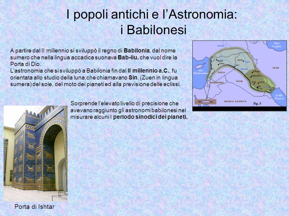 I popoli antichi e l'Astronomia: i Babilonesi