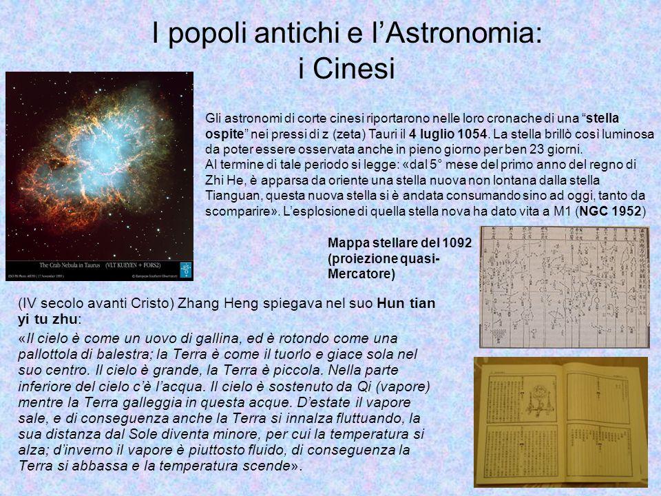 I popoli antichi e l'Astronomia: i Cinesi