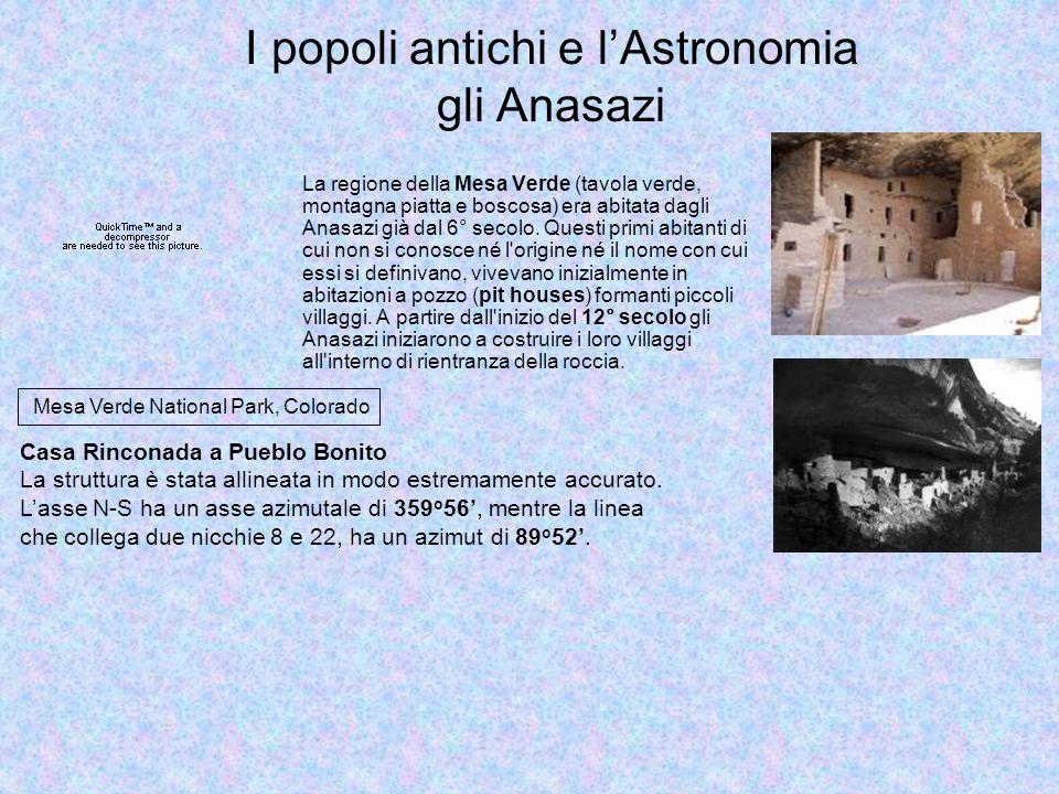 I popoli antichi e l'Astronomia gli Anasazi