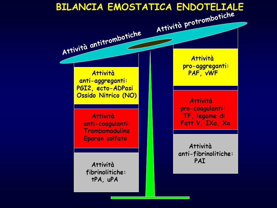 BILANCIA EMOSTATICA ENDOTELIALE