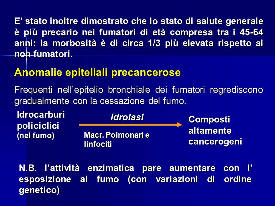 Anomalie epiteliali precancerose