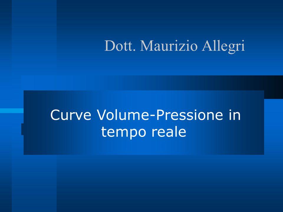 Curve Volume-Pressione in tempo reale