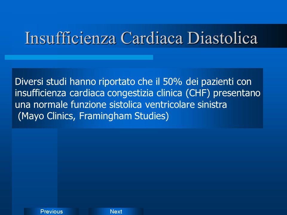 Insufficienza Cardiaca Diastolica