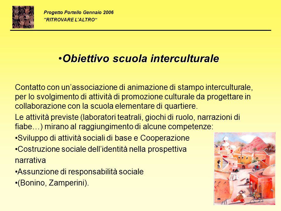 Obiettivo scuola interculturale