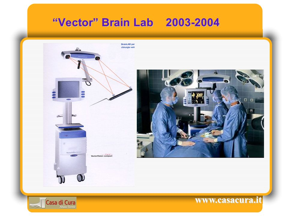 Vector Brain Lab 2003-2004 www.casacura.it